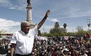 Andres Manuel Lopez Obrador est le candidat favori à l'élection présidentielle mexicaine.