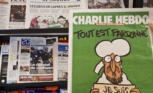 La couverture de « Charlie Hebdo », une semaine après l'attentat.