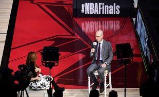 NBA: La prochaine draft se fera par visioconférence (Archives)