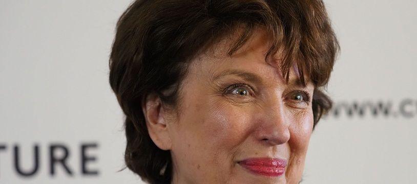 Roselyne Bachelot en juillet 2020 pour la passation de pouvoirs