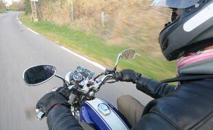 Au sortir de l'hiver, les motards reprennent la route (illustration).