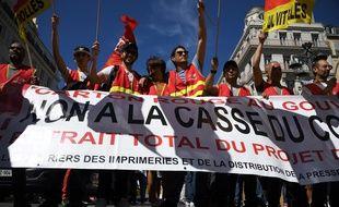 La manifestation du 2 juin à Marseille.