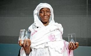 Rabi Hinsa, lauréate du prix Environnement et du Prix du public des International microfinance awards 2011.