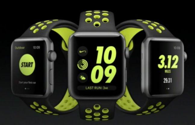 L'Apple Watch arrive en octobre dans une version Nike +.
