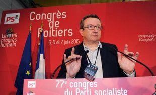 Christian Paul le 5 juin 2015 au congrès du parti socialiste à Poitiers