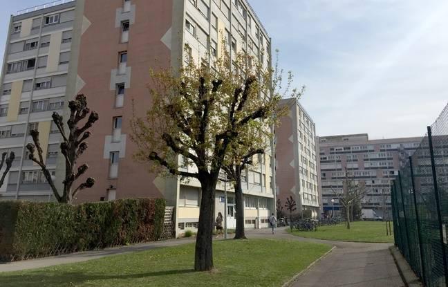 La cité universitaire Paul Appell à Strasbourg le 2 avril 2019.