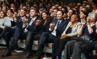 Anne Hidalgo, Christiane Taubira, Anne Hidalgo et dans une moindre mesure Arnaud Montebourg font partis des candidats et candidates préférés des électeurs de gauches pour la présidentielle de 2022. (archives)
