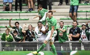 Robert Beric a signé son troisième but de la saison en Ligue 1, ce dimanche face à Lille.