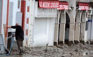 Des inondations ont touché la ville de Lourdes le 20 juin.