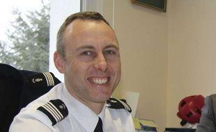 Le lieutenant-colonel Arnaud Beltrame, ici en 2013, est mort des suites de ses blessures après avoir pris la place d'otages dans un supermarché de l'Aude.