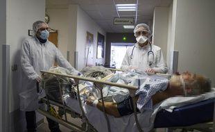 Les équipes de Zone Interdite ont notamment suivi la situation à l'hôpital Louis-Pasteur de Colmar où cette photo a été prise le 26 mars 2020.