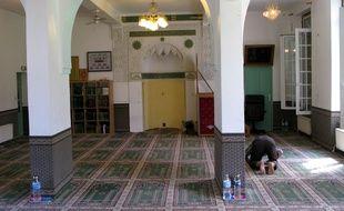 Illustration d'une mosquée à Toulouse.