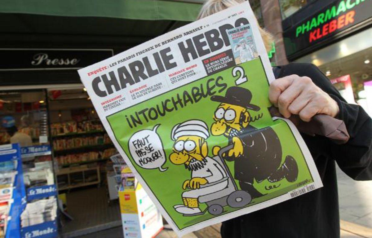 Charlie Hebdo en kiosque, le 19 septembre 2012. – G. VARELA / 20 MINUTES