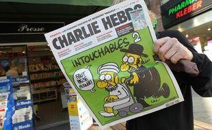 Charlie Hebdo en kiosque, le 19 septembre 2012.