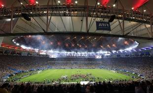 Le Maracana le soir de la finale, le 13 juillet 2014