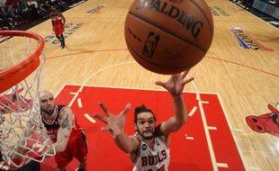 Le Français des Chicago Bulls Joakim Noah, le 29 avril 2014, contre les Washington Wizards.