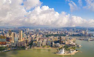 La ville de Macao, intégré à la Chine mais avec un statut administratif particulier. (illustration)