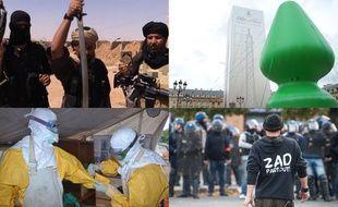 Daesh, Plug anal, Ebola, Zadiste