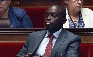 Le député LREM Jean-Francois Mbaye à l'Assemblée nationale, le 27 juillet 2017.