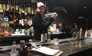 Rémi Fumero s'est inspiré de la prohibition des années 1920-1930 pour ouvrir le premier bar caché de Nice.
