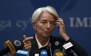 Christine Lagarde le 10 novembre 2011 en Chine.