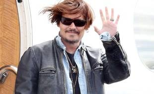 Johnny Depp le 21 avril 2015