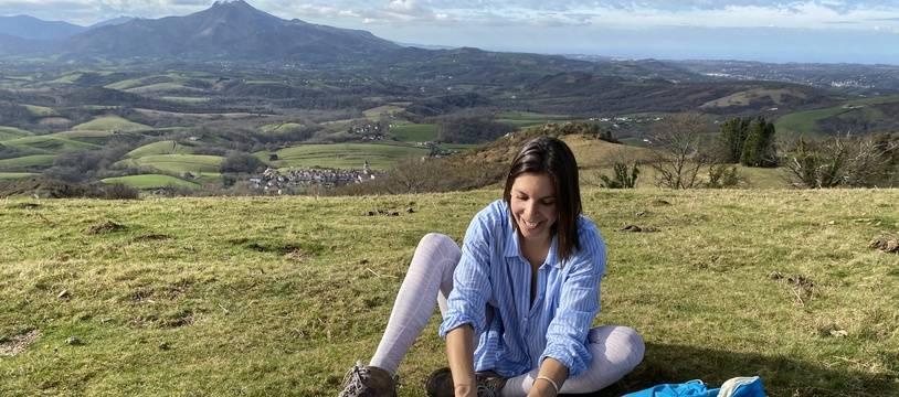 Un pique-nique en randonnée au Pays basque