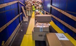 Des livraisons Amazon à Toulouse, illustration