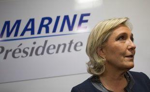Marine Le Pen, candidate du Front national à la présidentielle française 2017, le 16 novembre 2016 à Paris.