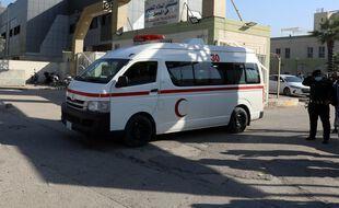 Une ambulance devant un hôpital en Irak (illustration).