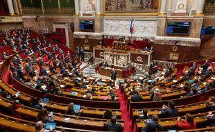 Les députés à l'Assemblée nationale, le 24 novembre 2020.