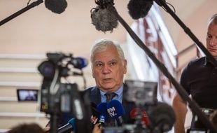 Le procureur général de la cour d'appel de Dijon Jean-Jacques Bosc