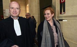 """La magistrate a été relaxée en appel dans le volet """"violation du secret professionnel"""" de l'affaire Bettencourt. / AFP PHOTO / MEHDI FEDOUACH"""