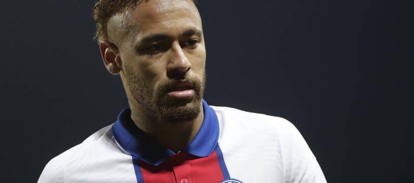 Neymar lors de Brest-PSG en Ligue 1, le 23 mai 2021.