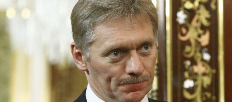 Dmitri Peskov, le 27 avril 2018 en Russie.