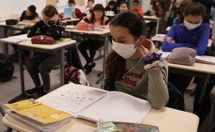 Des masques seront distribués aux collégiens de Seine-Saint-Denis (photo d'illustration)