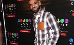 Le chanteur Drake à Las Vegas