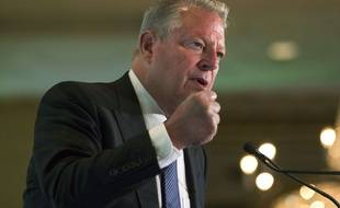 L'ancien vice-président américaine, Al Gore, le 9 juillet 2015.
