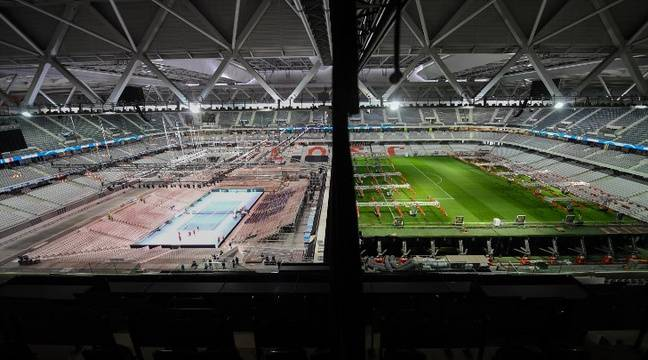 Finale de la Coupe Davis: Soixante-douze heures «top chrono» pour transformer le stade Pierre-Mauroy