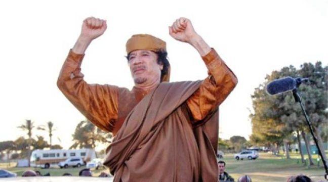 Mouammar Kadhafi pourrait être poursuivi pour crimes contre l'humanité. –  H. TURKIA / CHINE NOUVELLE / SIPA