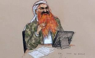 Une illustration du cerveau présumé du 11-Septembre, Khalid Sheikh Mohammed.