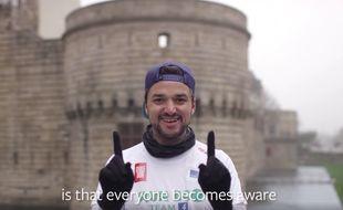 Le Nantais Nicolas Lemonnier et son groupe Run Eco Team ont séduit le cofondateur de Facebook Mark Zuckerberg qui a partagé une vidéo sur son compte ce 24 décembre 2016.
