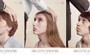 Nouvelle campagne de communication de l'association des Droits des non fumeurs