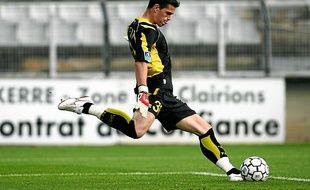 Vincent Briant a joué une quinzaine de matchs avec Nantes, notamment en septembre 2006 contre l'OM.
