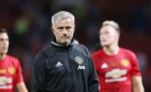 José Mourinho, l'entraîneur de Manchester United, le 3 août 2016.