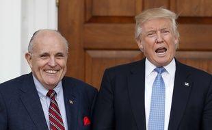Rudy Giuliani est l'un des avocats personnels de Donald Trump.