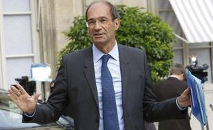 Le ministre du Travail Eric Woerth, à la sortie du premier conseil des ministres après les vacances d'été, à Paris le 25 août 2010.