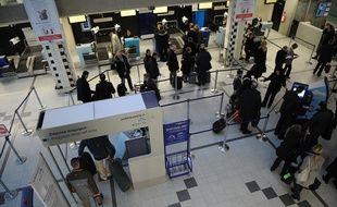 L'aéroport de Nantes-Atlantique le 11 janvier 2011.