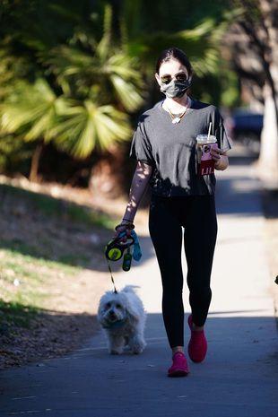 Lucy Hale, le 18 janvier 2021, à Los Angeles.