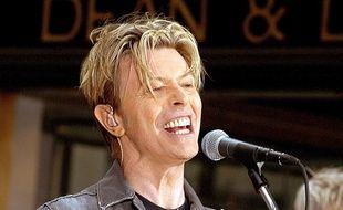 David Bowie en 2003, à New York.